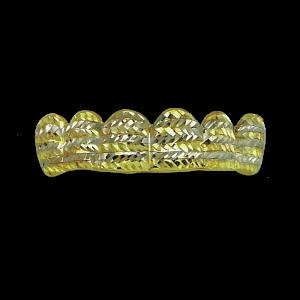 Gold Teeth Grill - Diamond Cuts | Z-4